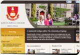 Sancta Sophia College web site